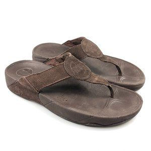 Fitflop Womens Brown 4026 030 Flip Flop Sandals 9